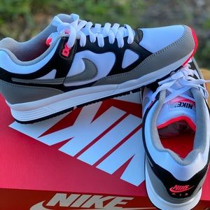 Nike Air Span 2 Men's Grey White Black Red